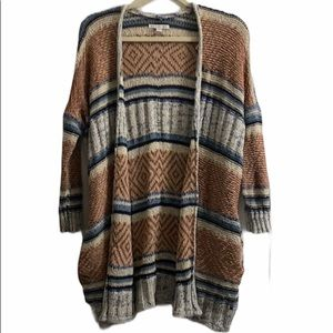 American Eagle Outfitters Boho Slouchy Cardigan